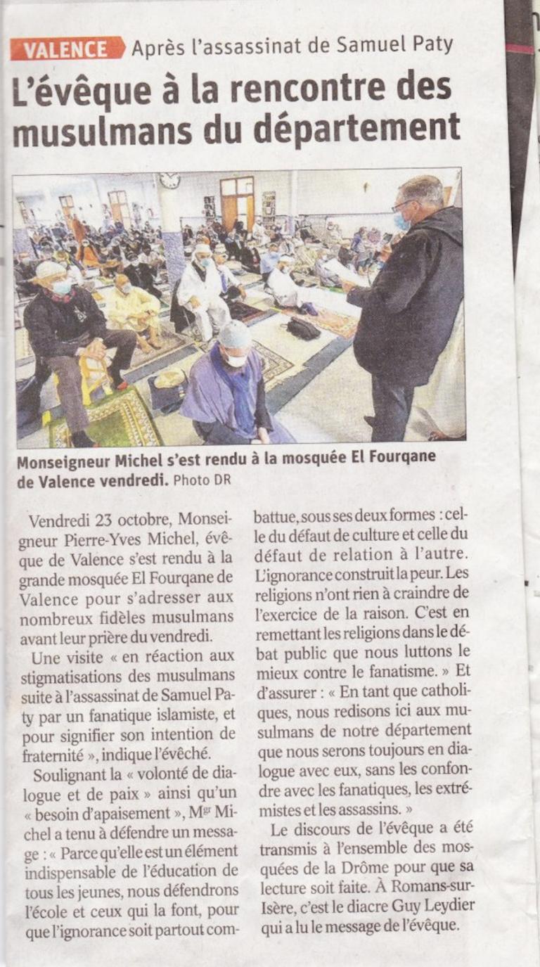 Après la décapitation de Samuel Paty, l'évêque de Valence… va à la mosquée rassurer les musulmans ! Capture-d%E2%80%99%C3%A9cran-2020-10-25-%C3%A0-19.02.45-768x1375