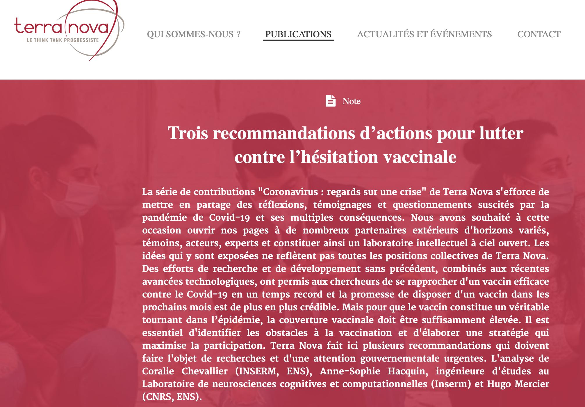 Vaccin : les socialauds expliquent à Macron comment manipuler les Français