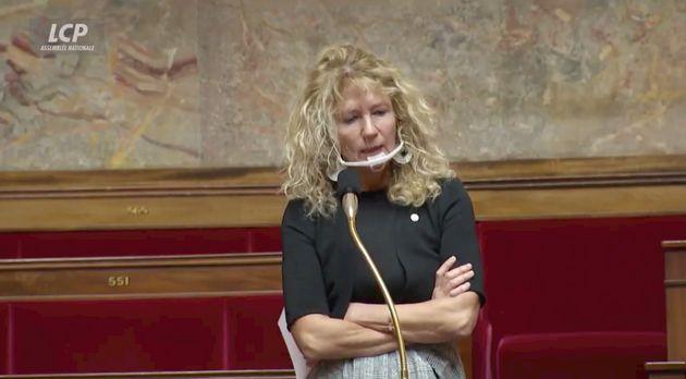 Martine Wonner ne porte pas le masque : des députés veulent la virer !