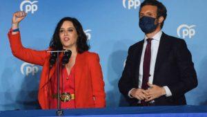 Madrid : une grande victoire pour le PP, Vox fait du surplace !
