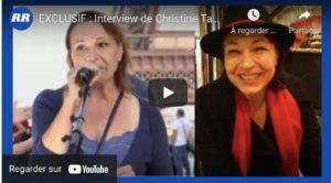 Christine sur une chaîne israélienne : Zemmour, notre dernière chance ?